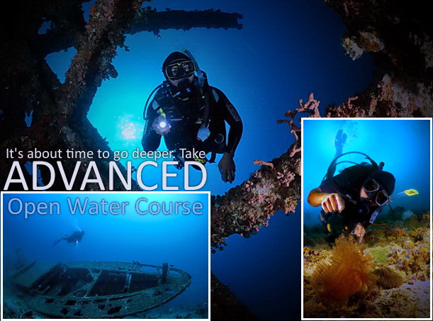 Advanced Open Water Diver – Olympian Divers